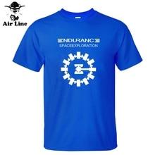 Film daventure Endurance interstellaire artisanat spatial Christopher Nolan T-shirts nouveaux T-shirts hommes coton T-shirts personnalisés