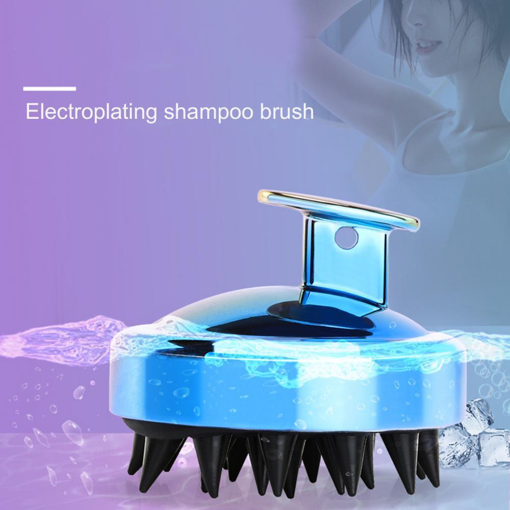 Spa Brush Head Body Massager Shampoo Scalp Massage Brush Hair Washing Comb Body Shower Brush Bath Sp