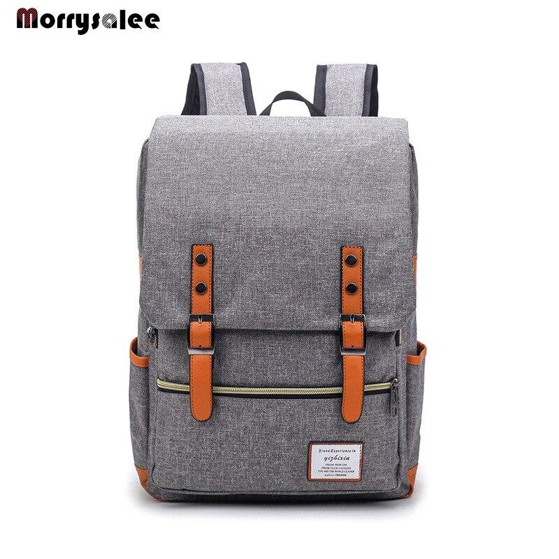 Рюкзак мужской для ноутбука с Usb-зарядкой, Модный повседневный стильный большой ранец для компьютера, деловая дорожная сумка, однотонный по...