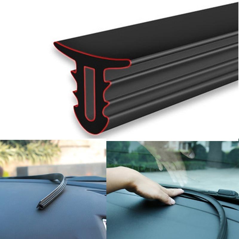 Car Dashboard Sealing Strips Stickers Universal for VW jetta Golf POLO Passat Cruze RIO K2 HYUNDAI Solaris Skoda Opel Mokka