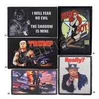 usa president trump keeping america great digital printing patches military tactical shoulder armband fabric stickers