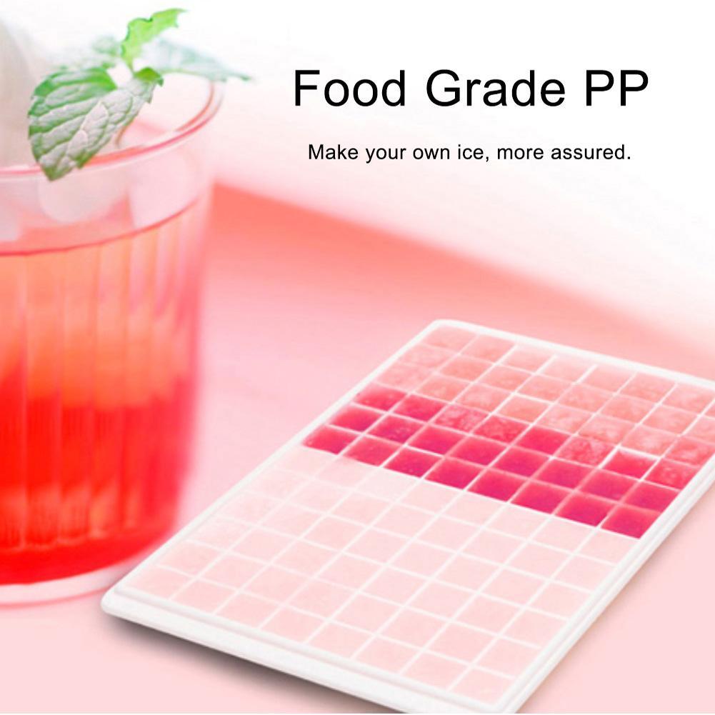 60/96 Grids Square Ice Cube Cream Tray Maker Mould Home Kitchen DIY Accessories