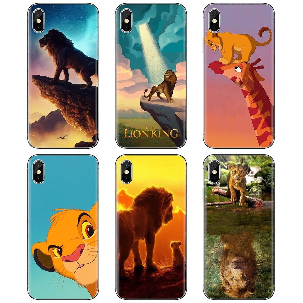 Funda de teléfono de silicona en línea The Lion King para Huawei Y6 Y5 2019 para Xiaomi Redmi Note 4 5 6 7 8 Pro Mi A1 A2 A3 6X 5X 7A