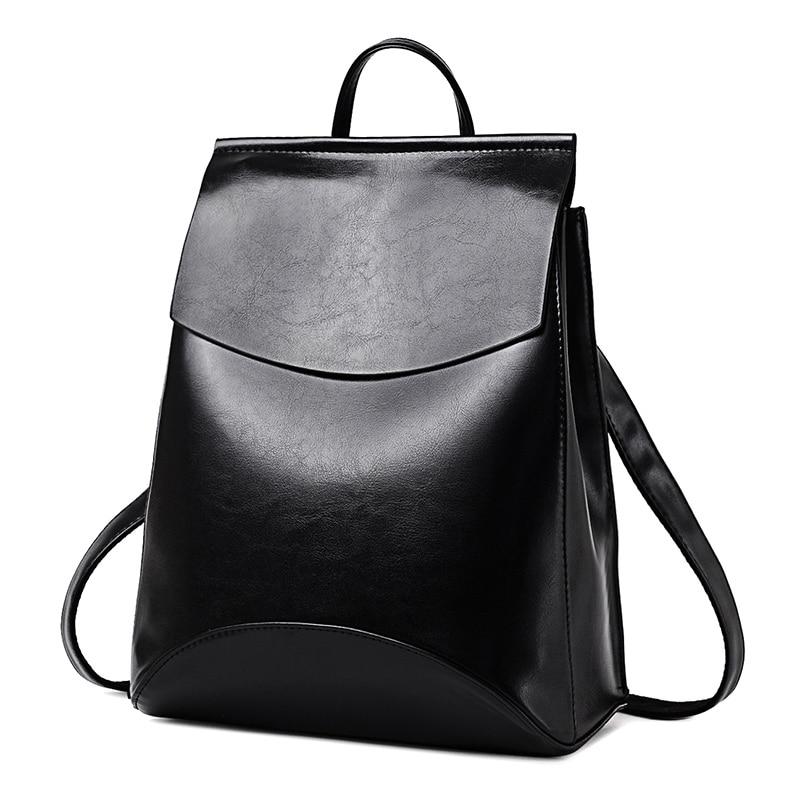 2021HOT موضة المرأة على ظهره عالية الجودة بولي Leather حقائب ظهر للمراهقين الفتيات الإناث حقيبة كتف المدرسة على ظهره Mochila
