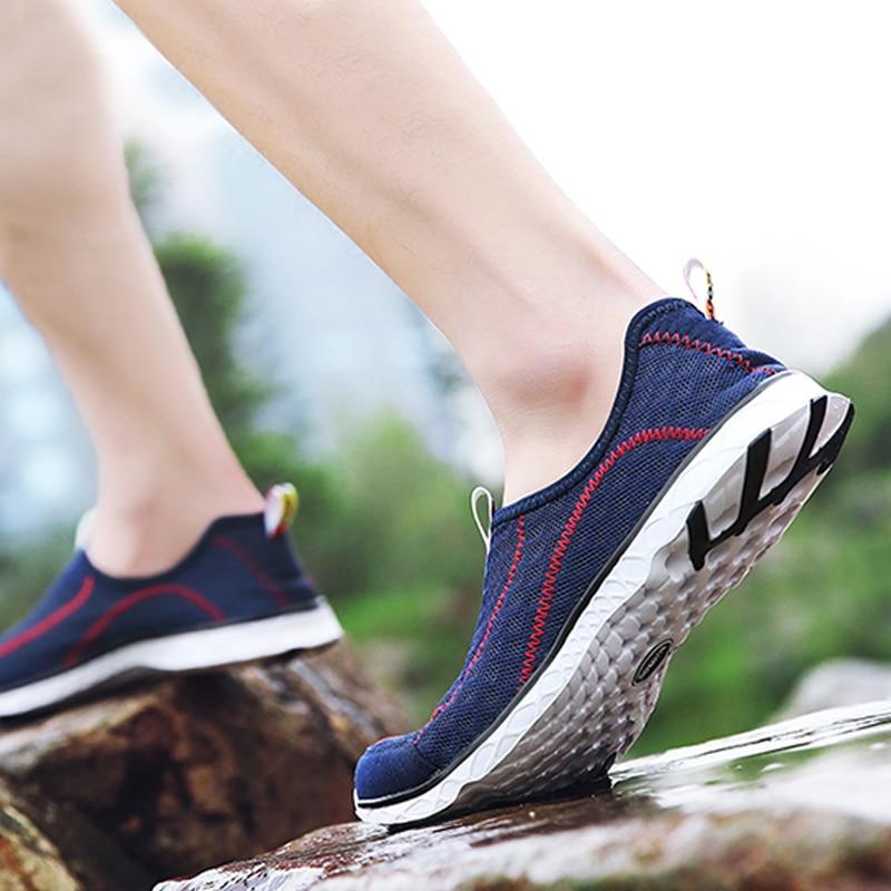 AQ122, zapatillas de verano 2020, gran oferta, zapatos de malla para deportes al aire libre, transpirables, zapatos de secado rápido, zapatos de playa para hombres y mujeres