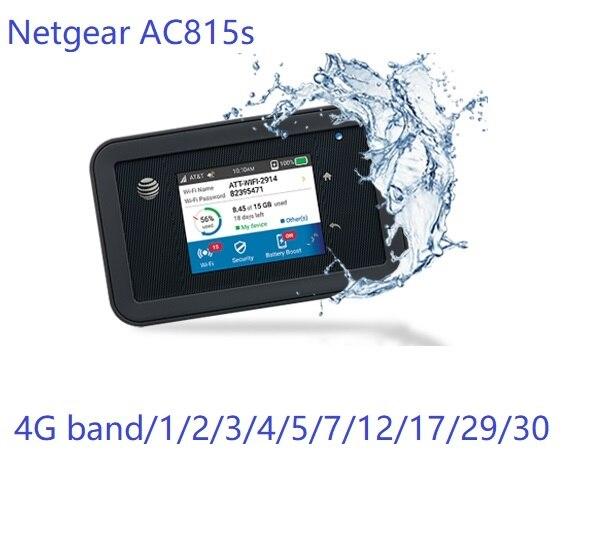 Netgear-راوتر wi-fi AC815s 4G ، مفتوح ، مع فتحة لبطاقة SIM ، وصول حزمة 4G LTE ، نقطة وصول للهاتف الخلوي ، مودم لاسلكي