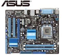 Placa base de escritorio ASUS P5G41T-M LX V2 para intel DDR3 LGA 775 USB2.0 VGA SATA II 8GB G41, placa base PC de escritorio usada