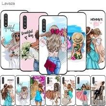 Lavaza Fashion Baby Mom Girl Queen Case for Samsung Galaxy A2 J4 Core J6 J7 DUO J8 Prime A20E A70S 2018