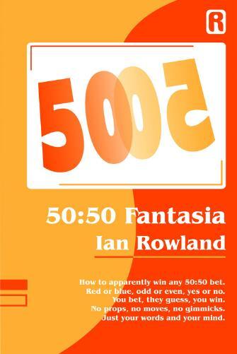 50-50 trucos de magia fantasía de LAN Rowland