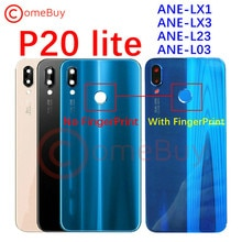 for Huawei P20 Lite Back Battery Cover Rear Glass Panel Door Housing Case For Huawei P20 Lite Batter