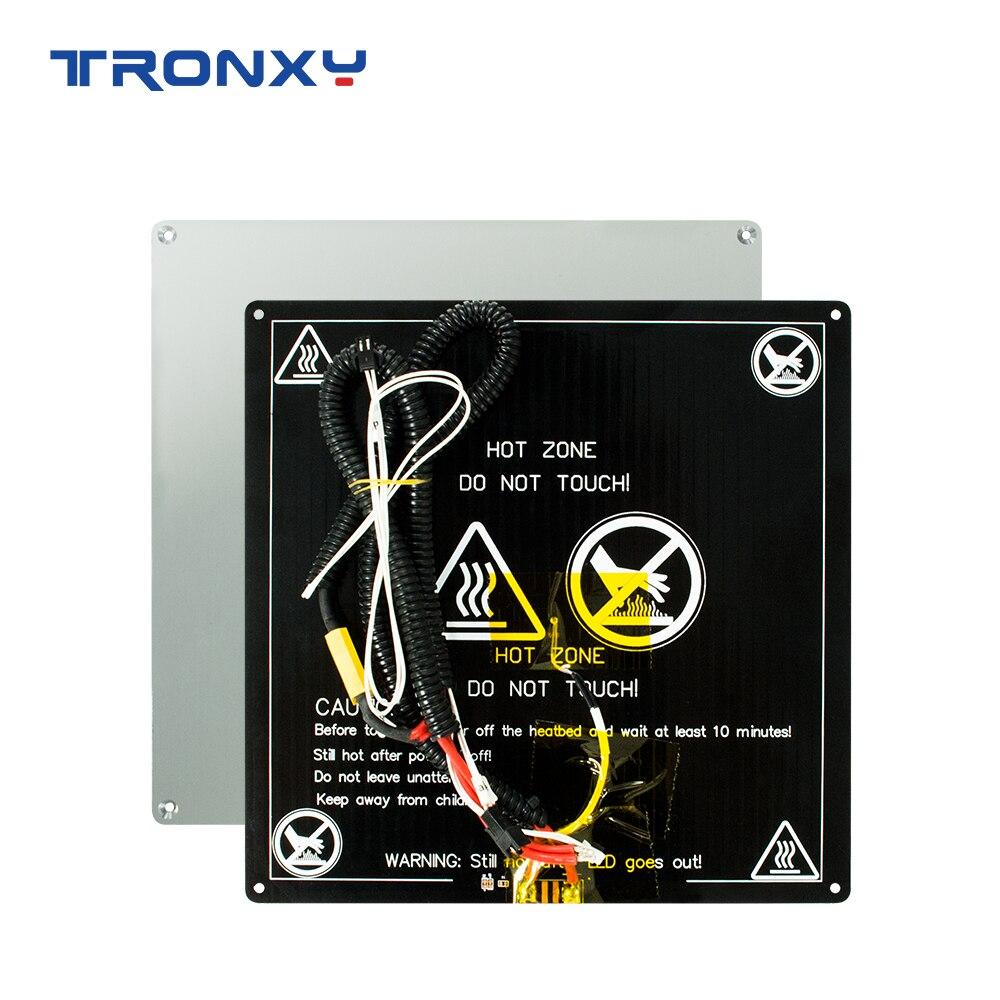 TRONXY 3D Printer Parts Heat Bed 220*220mm/255mm*255mm/330*330mm Standard Aluminum Plate Hot Accessories Heatbed