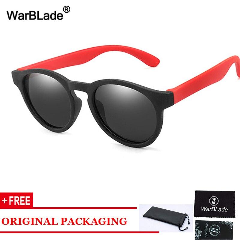 Gafas de sol polarizadas WarBLade para niños, Gafas de sol para niños y niñas, Gafas de sol de seguridad de diseñador de marca para bebés, Gafas UV400