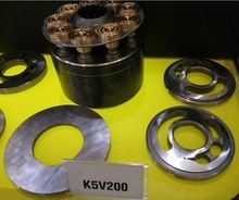 Kawasaki Pump Repair Kits Hydraulic Piston Oil Pump Parts K5V200 KOBELCO 470 CASE 480 mian Pump Spare Parts