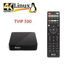 5 pièces dorigine TVIP.530 4K Linux TV Box 8G S905W Quad Core TVIP s-box V.530 HD Youtube travailler sur Linux iptv TV Box tvip530