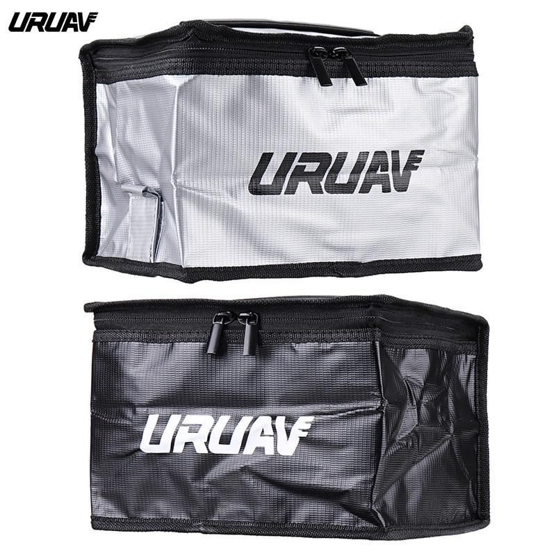 URUAV UR21 21X16X14cm Fireproof Waterproof Lipo Battery Safety Bag For RC Drone FPV Racing Multiroto