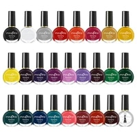 colorful high quality nail gel polish diy fashion nail art makeup tools soft bright color safe and non toxic for women wholesale