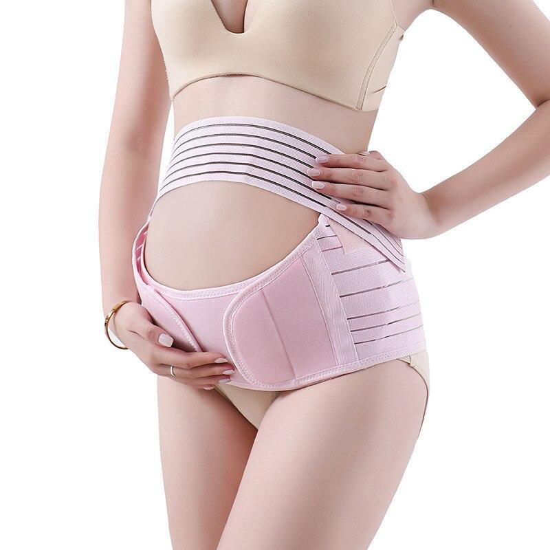 Three-piece Pregnant Belly Support Belt Prenatal Breathable Support Belt Waist Belt Extender Pregnancy Support Belt Maternity
