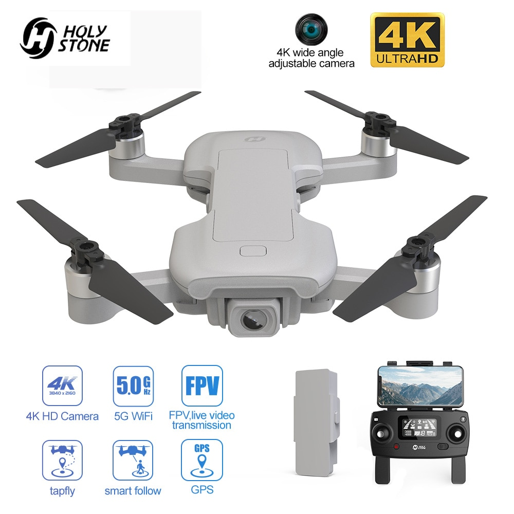 Фото - Holy Stone HS510 GPS Drone With Camera HD 4K Anti-shake Optical Flow Positioning 5G FPV Quadcopter Brushless Motor With Bag folding rc quadcopter optical flow 5g esc dual camera gps brushless motor remote control drone