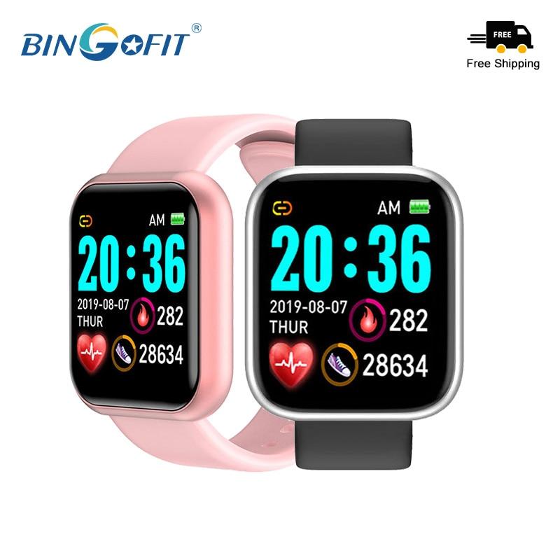 BingoFit Smart Watch Heart Rate Monitor Fitness Bracelets Waterproof High-Quality Multi-mode Sport Wristband Watches