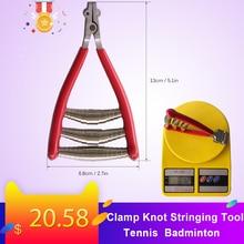 Tennis Uitgangspunt Klem Knoop Rijgen Tool Badminton Racket accessoires