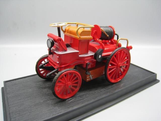 OFERTA ESPECIAL raro 143 1900 Modelo de la colección francesa de motores de fuego retro modelo de aleación