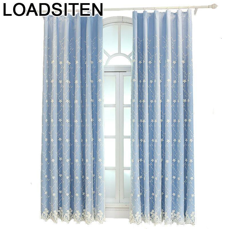 Visillos De Dormitorio modernos Para sala De estar, Cortinas cortas Para cuarto,...