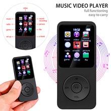 Fashion MP3 Player Sports Walkman MP3 Player Student Music Players Sports Bluetooth External Play E-