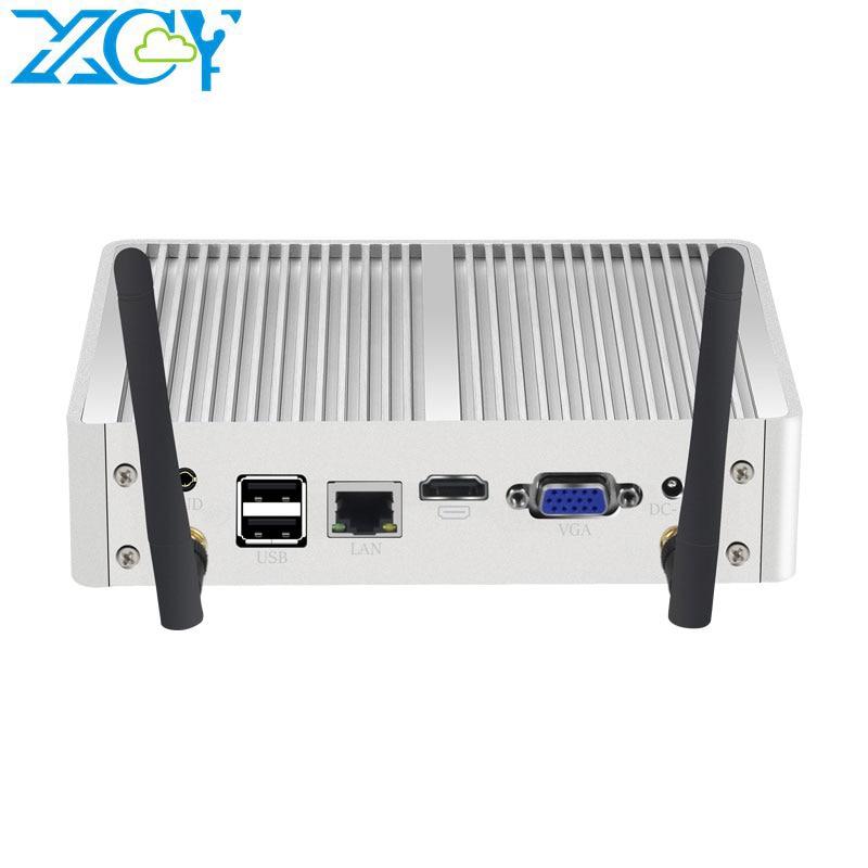 Мини-ПК XCY без кулера, Windows 10 7 Core i7 4500U i5 4200U i3 5005U DDR3L Wi-Fi HDMI, HD Graphics Nettop, USB порт
