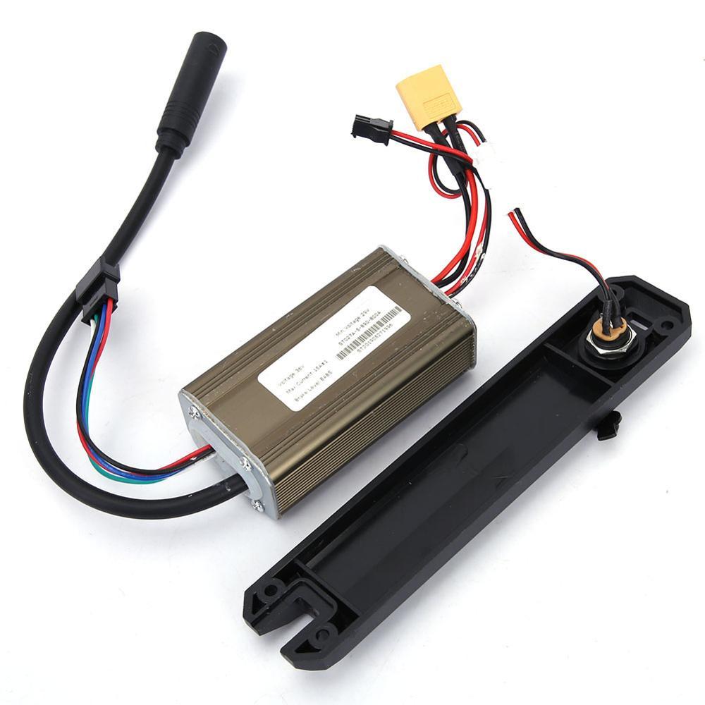 Panel de controlador de Scooter eléctrico de 36V con cubierta de puerto de carga para KUGOO accesorio de Scooter eléctrico de 8 pulgadas