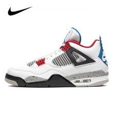 Nike Air Jordan 4 Basketball Pour Hommes Chaussures Original Haut Baskets Jordan Basket-Ball Chaussures Hommes Femmes Unisexe CI1184-146