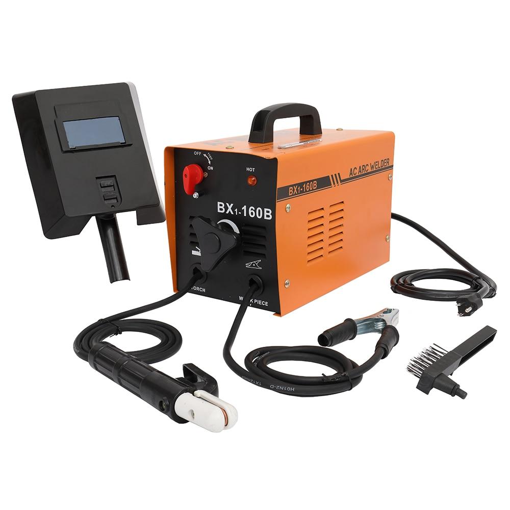 BX1-160B دليل قوس لحام كهربائي لحام آلة 110V الولايات المتحدة القياسية لنا W arehouse