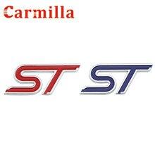 Carmilla Auto Abs Chrome Hoge Kwaliteit S St T Sport Stijl Woorden Logo 3D Auto Sticker Accessoires Decoratie