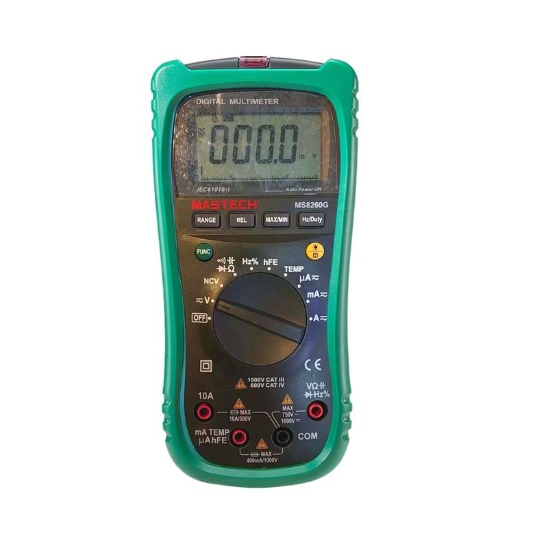 Simulación de rango automático pantalla doble medición de temperatura Huayi multímetro MS8260G Huayi otros productos número digital disp