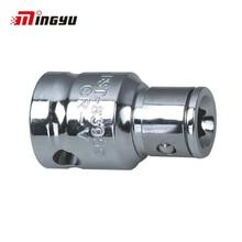 1pc 3/8 1/2 Inch Vierkante Drive om 1/4 5/16 3/8 inch Hex Shank Adapter Wrench Converter Tool Schroevendraaier Bit houder Socket Adapter