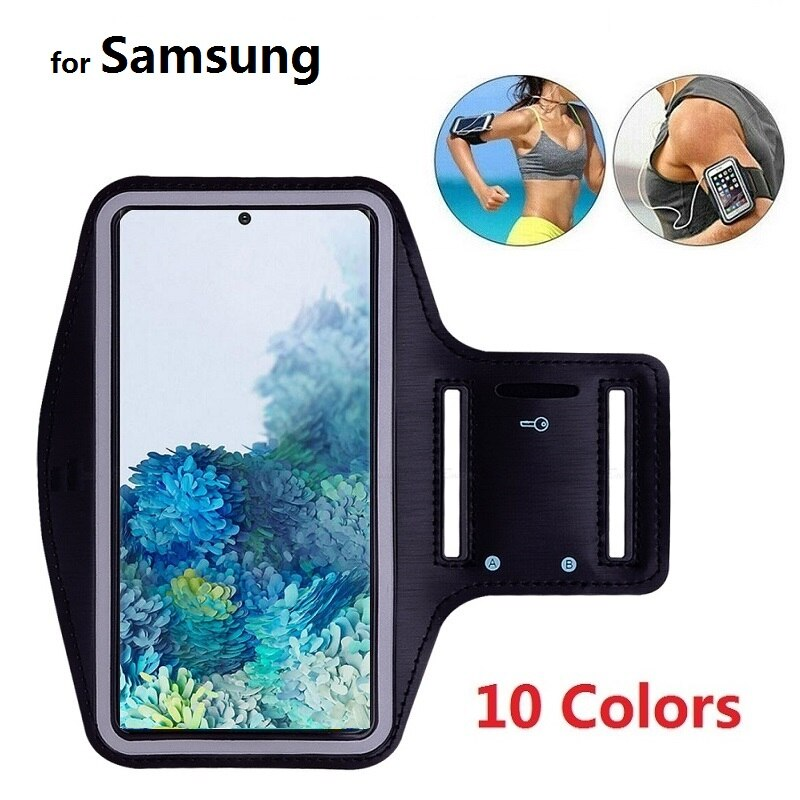Sports Running Phone Bag Case for Samsung A50 A51 A71 A70 A40 Samsung S20 Ultra S10 S9 S8 Note 10 Pl