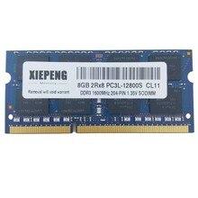 16GB 2Rx8 PC3L-12800S 4GB PC3L 8GB DDR3 1600MHz 12800 RAM Memória para Notebook Lenovo ThinkPad Yoga 15 T560 L460 T460 Laptop