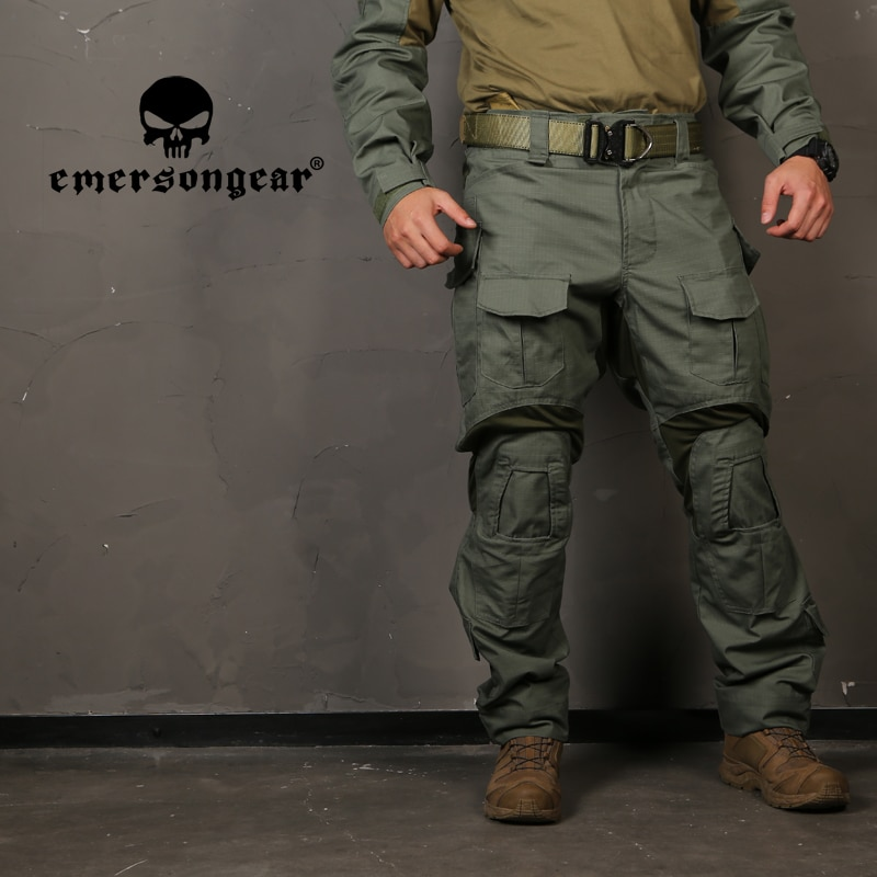 Emersongear Tactical G3 Combat Pants Advanced Version Men Duty Cargo Trousers Pant Tactics Outdoor Shooting Airsoft Training