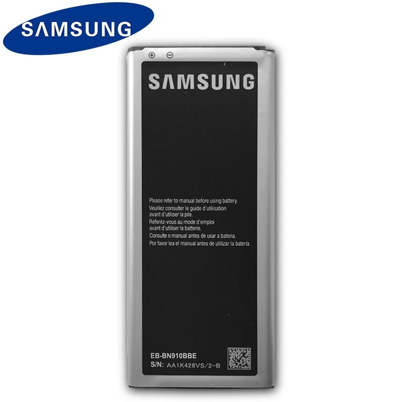 100% Origina Samsung EB-BN910BBE Bateria 3220mah Para Galaxy Note 4 N910 N910F N910A N910V N910P N910T N910H Replacement Batteria