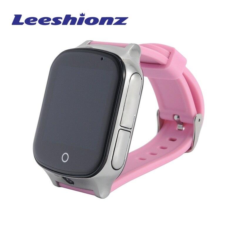 A19 lbs gps wifi localização inteligente relógio de segurança do bebê chamada sos para monitorar seus filhos e crianças rastreamento smartwatch apoio sim cartão