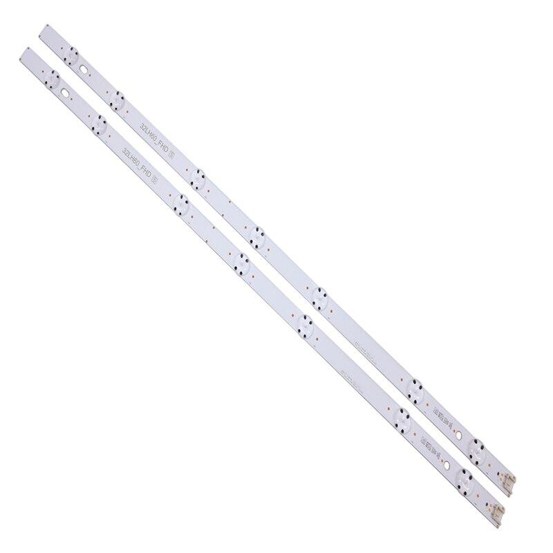 Novo kit 20 pces 7led 615mm led tira blacklight para lg 32lh604v 32lh530v 32lh60_fhd_a 32lh60_fhd s l ssc_32inch_fhd_rev01_151102