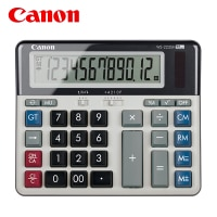 Canon WS-2235H computer keyboard calculator bank financial meeting office test computer