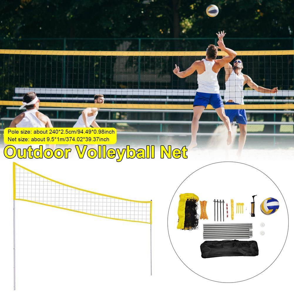 adjustable-height-foldable-volleyball-net-set-accessories-quickstart-tennis-summer-beach-professional-excercise-outdoor-sports