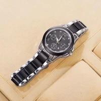 2021 new longbo business leisure luxury ladies ceramic watch waterproof luminous simple fashion quartz watch