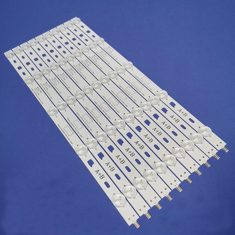 10 шт. светодиодная подсветка полосы для samsung 2013SONY40A 2013SONY40 SONY KDL-40W605B NS4S400DND01 KDL-40R353B KDL-40R480B 40R485A 3228