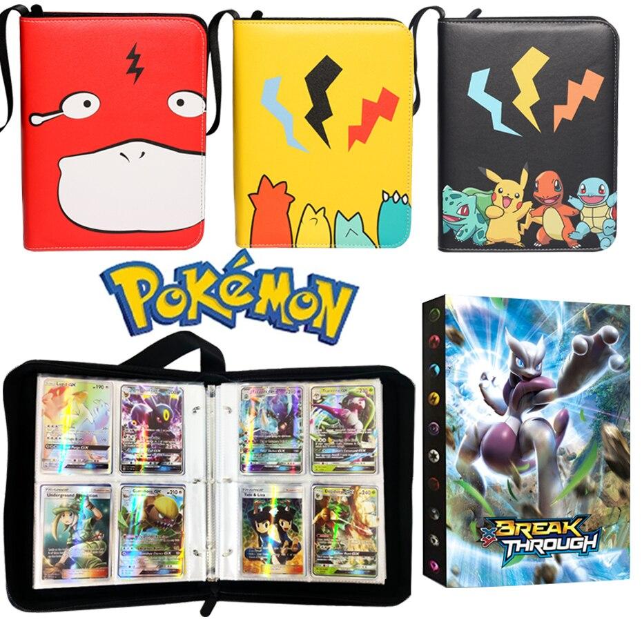 Álbum de tarjetas de Pokémon, cartas de Anime de dibujos animados, EX GX, carpeta de coleccionistas, lista de carga superior, juguetes geniales de regalo, novedad de 2021