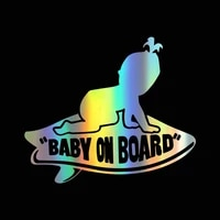meitinalife baby on board stickers for toddler girl kids on board funny car stickers and decals baby in car