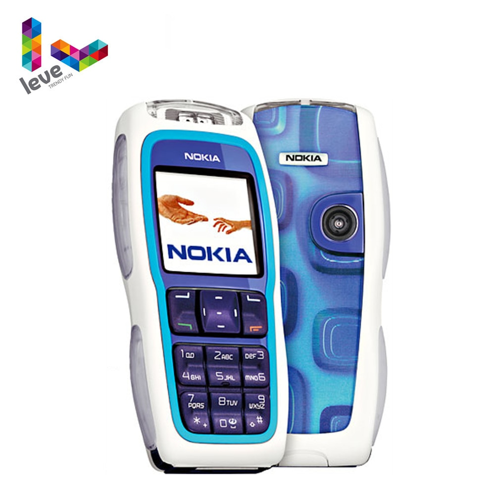 Nokia 3220 Unlocked Phone GSM 900/1800 Support Multi-Language Used and Refurbished Cell Phone Free S