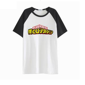 High-Q Unisex Boku no Hero Academia print T-Shirt tee t shirt lover Midoriya Izuku comfortable loose t-shirt t shirt tees