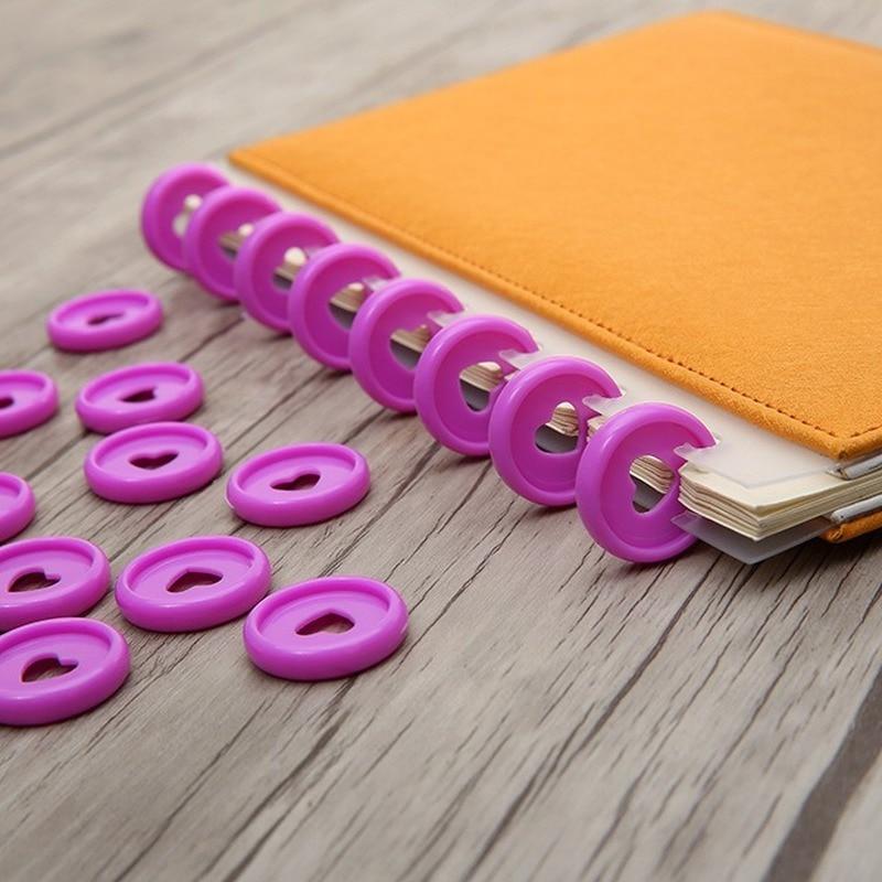 anillo-de-plastico-con-forma-de-seta-para-oficina-hebilla-de-disco-hoja-suelta-suministros-de-encuadernacion-30-uds-24mm