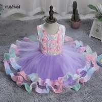 yilinhan dresses summer sequin big baby girl dress 1st birthday party wedding dress for girl palace princess evening kid clothes